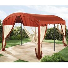 Grasekamp 4 Seitenteile zu Bogenpergola 3x4m  Terrakotta terracotta