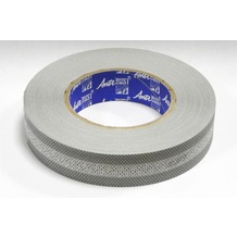 Grasekamp Anti Dust - Filterband mit Membran  Breite 28 mm Silbergrau