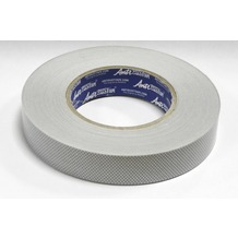 Grasekamp Anti Dust - NON Filterband ohne Membran  Breite 25 mm Silbergrau
