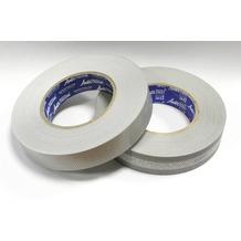 Grasekamp Anti Dust Set - Filterband Breite 28 mm  und oberes Abschlussband 25 mm Silbergrau