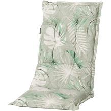 Grasekamp Auflage Palmen Blätter Grün zu  Gartensessel Kissen Gartenstuhl  Klappstuhl Grün