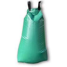 Grasekamp Bewässerungsbeutel für Bäume - 60 Liter - Wasserbeutel Bewässerungssystem Wassersack Grün