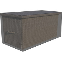 Grasekamp Black Premium Kissenboxhülle 135x65x55cm  / cushion box cover / atmungsaktiv /  breathable Schwarz