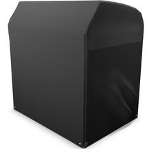 Grasekamp Black Premium Strandkorbhülle XL  145x106x160cm / beach chair cover /  atmungsaktiv / breathable Schwarz