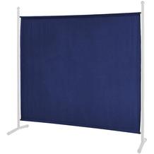 Grasekamp Ersatz Bezug Stellwand 178x178cm Blau  Raumteiler Trennwand Sichtschutz Blau