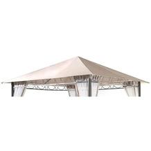 Grasekamp Ersatzdach 3x3m Stil Garten-Pavillon  Sand Ersatzplane Bezug Beige