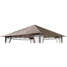 Grasekamp Ersatzdach 3x3m Stil Pavillon Taupe  Plane Bezug Gartenpavillon Taupe
