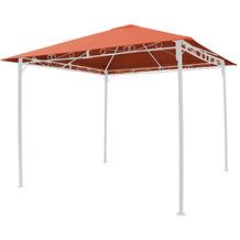 Grasekamp Ersatzdach 3x3m Terra zu Antik Pavillon Gartenpavillon Partyzelt Bezug universal Terrakotta