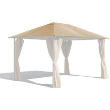 Grasekamp Ersatzdach 3x4m Gartenpavillon Nizza  Sand Pavillon Partyzelt Beige