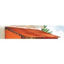 Grasekamp Ersatzdach Rollpavillon 3x4m Terra Plane  Bezug Markise Terrakotta