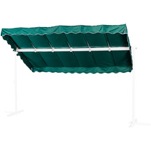 Grasekamp Ersatzdach Standmarkise Dubai Grün  Raffmarkise Ziehharmonika Mobile Markise Grün