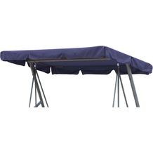 Grasekamp Ersatzdach Universal Hollywoodschaukel  Blau Ersatz-Bezug Sonnendach Dachplane Blau