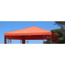 Grasekamp Ersatzdach zu Blätter Pavillon 3x3m  Terrakotta Terrakotta