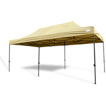 Grasekamp Faltpavillon 3x6m Modena Beige  extra starkes Gestell beige