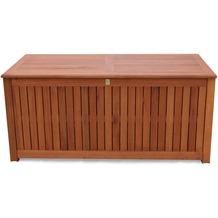 Grasekamp Kissenbox Santos 130cm Auflagenbox  Gartenbox Truhe Eukalyptus Natur