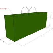 Grasekamp Kissentasche Schutztasche Tragetasche  für 2 Rollliegen Auflagen Grün Grün