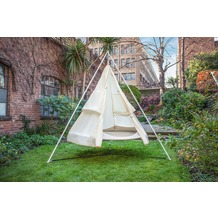 Grasekamp Regenschutz für Tipi Zelt Hängematte  Ø 180cm Beige Beige