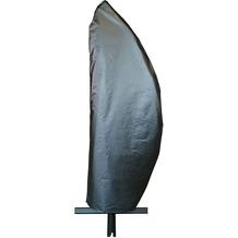 Grasekamp Schirmhülle Ampelschirm Premium  Segelform Schwarz