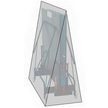 Grasekamp Schutzhülle Abdeckung für  Tischtennisplatte Ping Pong Tisch Weiß