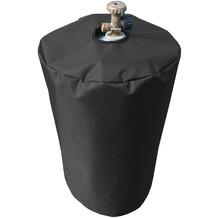 Grasekamp Schutzhülle Gasflasche 11 kg Gasgrill  Camping Plane Schutzhaube Polyester  Schwarz 300D Schwarz