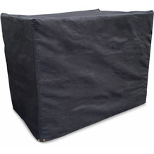 Grasekamp Schutzhülle Gitterbox 125x85x95cm Polyester 600D Schwarz schwarz