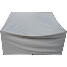 Grasekamp Schutzhülle zu Lanzarote Lounge 2er Sofa  Polyester/PVC Grau