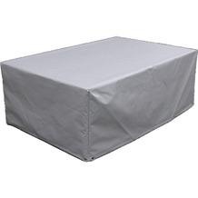 Grasekamp Schutzhülle zu Lanzarote Lounge Tisch  140x90 cm Hellgrau