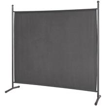 Grasekamp Stellwand 180 x 180 cm Grau Paravent  Raumteiler Trennwand Sichtschutz Grau