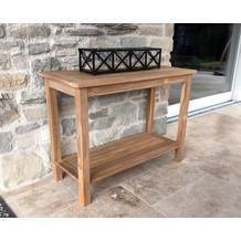 Grasekamp Teak Tisch 100x45x75cm Kaffeetisch  Gartenmöbel Couchtisch Gartentisch Natur