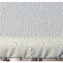 Grasekamp Tischplattenhülle bis Ø 100 cm Silbergrau