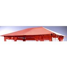 Grasekamp Universal Ersatzdach 293x390cm Terra  Plane Bezug Baldachin Pavillon Orange
