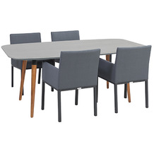 Greemotion Dining Set Bern, 180 x 75 x 95 cm, 5-tlg