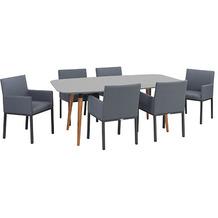 Greemotion Dining Set Bern, 180 x 75 x 95 cm, 7-tlg