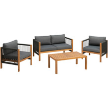 Greemotion Greemotion Lounge-Set ABACO, grau