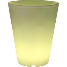 Greemotion LED Pflanztopf ca. Ø 30,2cm H 37,5cm