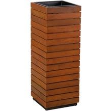 Greemotion Pflanzsäule,Akazienholz recycelt H 72cm