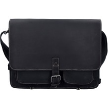 Greenburry Buffalo Messenger XL 39 cm dull black