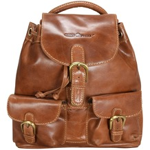 Greenburry Expedition Rucksack Leder 26,5 cm cognac