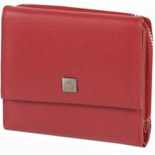 Greenburry Spongy Geldbörse Leder 10,5 cm red
