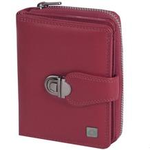 Greenburry Spongy Geldbörse Leder 9 cm red