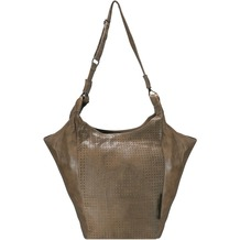 Greenburry Stainwashed Schultertasche Leder 30 cm clay