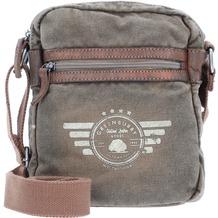 Greenburry Vintage Aviator Umhängetasche 20 cm khaki