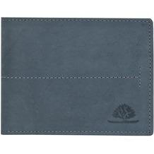 Greenburry Vintage Geldbörse Querformat Leder 12 cm mit Klappfach hunter blue
