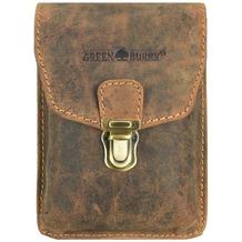 Greenburry Vintage Gürteltasche Leder 11 cm brown