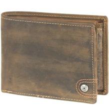 Greenburry Vintage Revival Vol. 1 Geldbörse Leder 10 cm brown