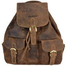 Greenburry Vintage Rucksack Leder 35 cm braun