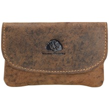Greenburry Vintage Schlüsseletui Leder 12 cm braun