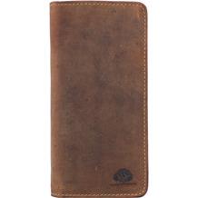 Greenburry Vintage Stifteetui Leder 8,5 cm braun