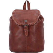 Greenburry Vintage Washed City Rucksack Leder 26 cm natur