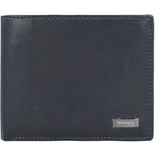 Greenland Black Nappa Geldbörse RFID Leder 11 cm black